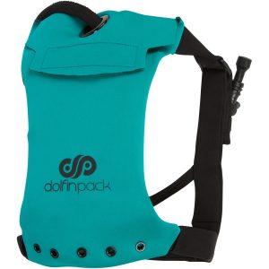 Teal & Black DolfinPack Hydration Pack - Front